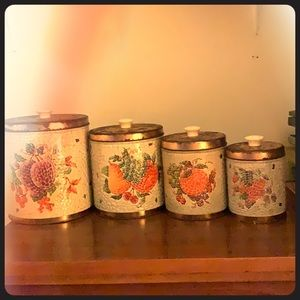 Vintage Chicago Canister4 piece set
